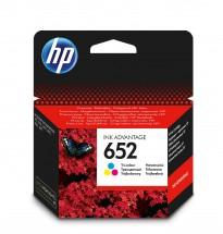 Cartridge HP F6V24AE, 652, Tri-color