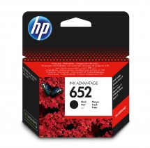 Cartridge HP F6V25AE, 652, černá