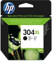 Cartridge HP N9K08AE, 304XL, černá
