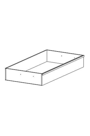 Cassanova - Úložný prostor 80, 2ks (buk 07)