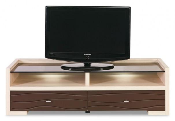 Cava - CV 2, TV stolek (thuje/metalic bronz)