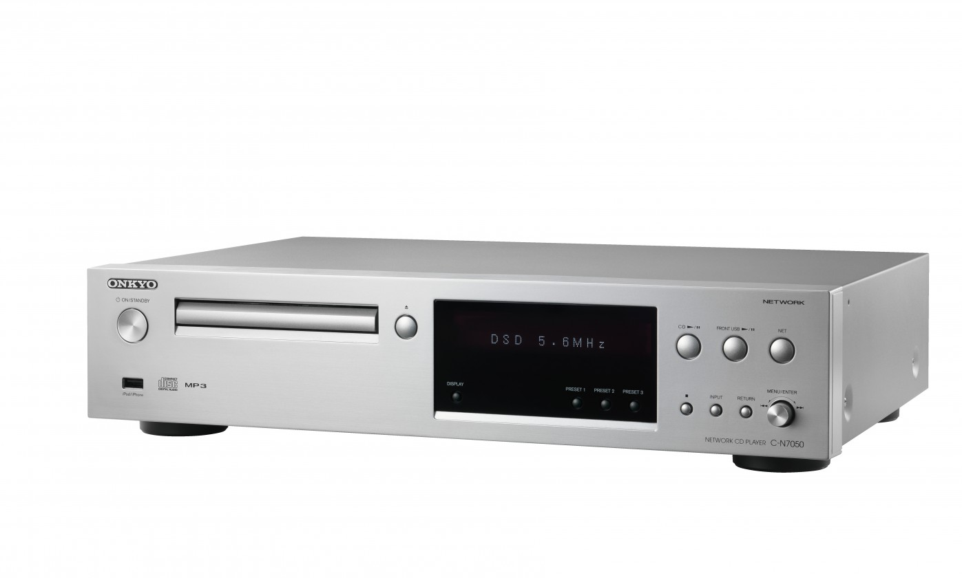 CD přehrávač ONKYO C-N7050 Silver