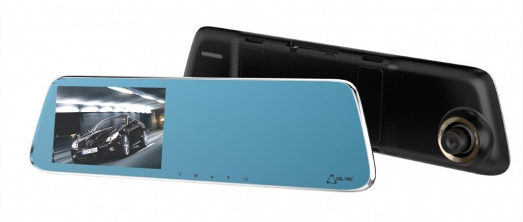 CEL-TEC M6 Dual - autokamera ve zpětném zrcátku