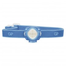 Čelovka GP CH31, LED, 2x CR2025, modrá