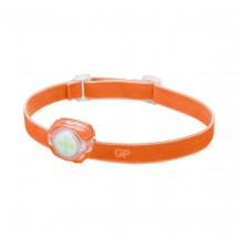 Čelovka GP CH31, LED, 2x CR2025, oranžová