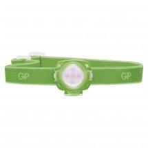 Čelovka GP CH31, LED, 2x CR2025, zelená