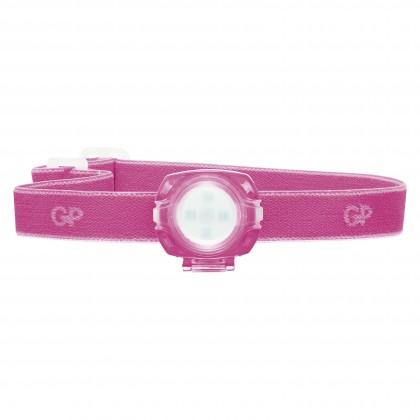 Čelovky Čelovka GP CH31, LED, 2x CR2025, růžová