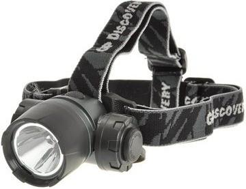 Čelovky LED čelovka GP LOE205 + 3 x AAA baterie GP Ultra POUŽITÉ, NEOPOTŘ