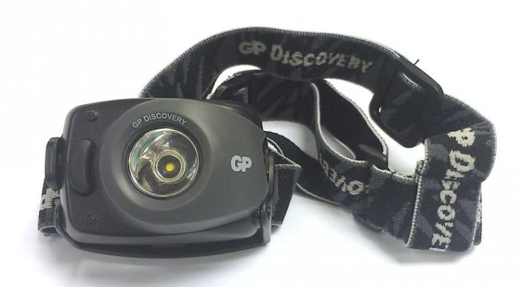 Čelovky LED čelovka GP LOE208 + 3 x AAA baterie GP Ultra