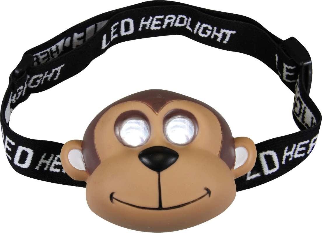 Čelovky LED čelovka - opička