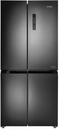 Černá Americká lednice Concept LA8383DS