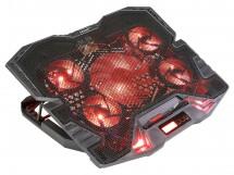 Chladící podložka EVOLVEO Ania 5R, červené podsvícení