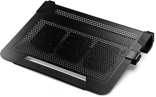 Chladící podložky Cooler Master ALU NotePal U3 Plus, černá