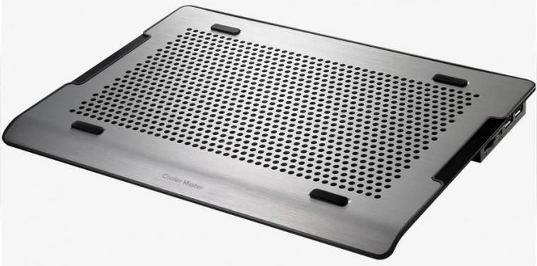 Chladící podložky Cooler Master NotePal A200, stříbrná