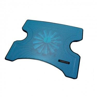 Chladící podložky OMEGA chladící podložka FRIDGE 1 ventilátor, 2USB, modrá