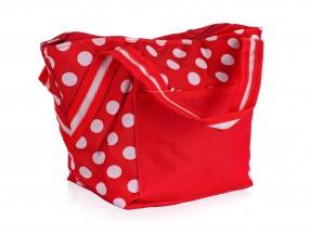 Chladící taška malá (červená, bílá)