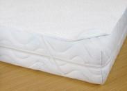 Chránič matrace s PVC, 90x200, bílý