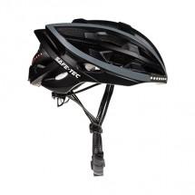 Chytrá helma SafeTec TYR, S, LED blinkry, bluetooth, černá