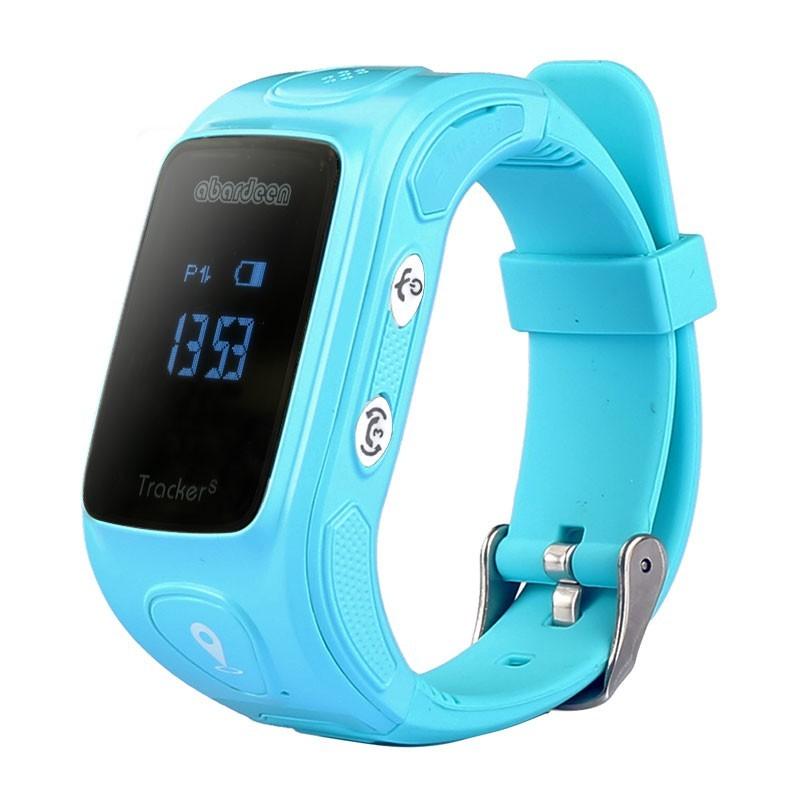 Chytré hodinky Abardeen KT01S náramkový telefon, Blue