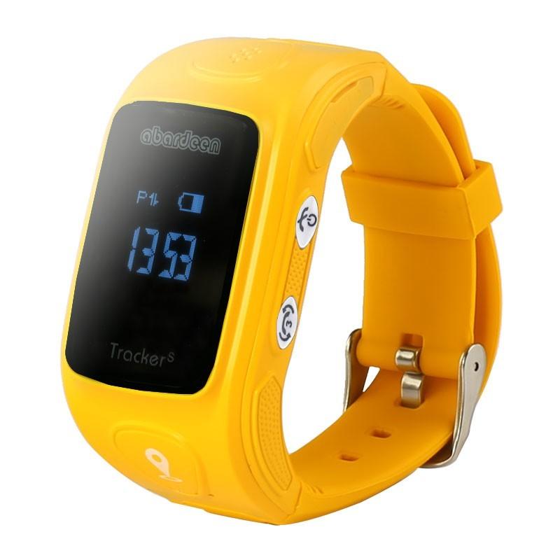 Chytré hodinky Abardeen KT01S náramkový telefon, Orange