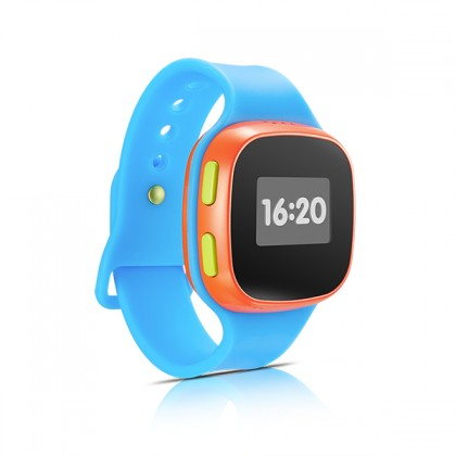 Chytré hodinky Alcatel MoveTime Blue/Red