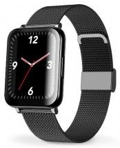 Chytré hodinky Aligator Watch Life, 3x řemínek, černá