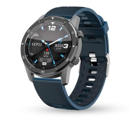 Chytré hodinky Aligator Watch PRO, šedá +3 řemínky v balení