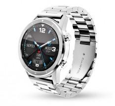 Chytré hodinky Aligator Watch PRO, stříbrná +3 řemínky v balení