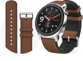 Chytré hodinky Amazfit GTR 47mm, stříbrná