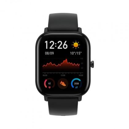 Chytré hodinky Amazfit GTS, černá POUŽITÉ, NEKOMPLETNÍ PŘÍSLUŠENS