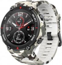 Chytré hodinky Amazfit T-Rex, Camo Green