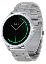 Chytré hodinky ARMODD Silentwatch 3, stříbrná
