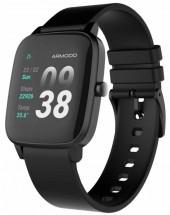 Chytré hodinky Armodd Slowatch, černá