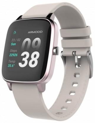 Chytré hodinky ARMODD Slowatch, růžová