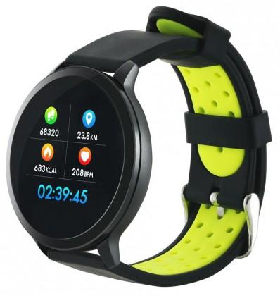 Chytré hodinky Canyon SW71, 2 náramky, černá ROZBALENO