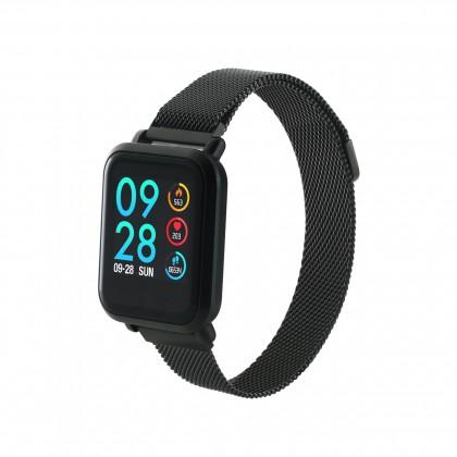 Chytré hodinky Canyon SW72, 2 náramky, černá
