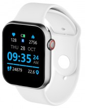 Chytré hodinky CEL-TEC GrandWatch E1, stříbrná