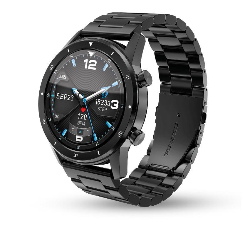 Chytré hodinky Chytré hodinky Aligator Watch PRO, černá +3 řemínky v balení