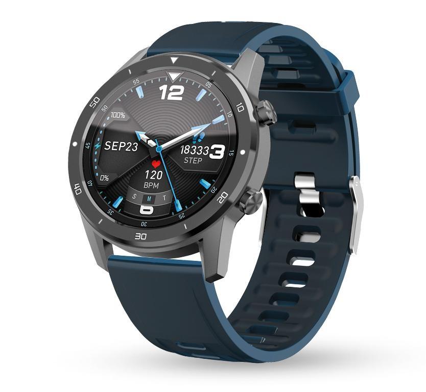 Chytré hodinky Chytré hodinky Aligator Watch PRO, šedá +3 řemínky v balení
