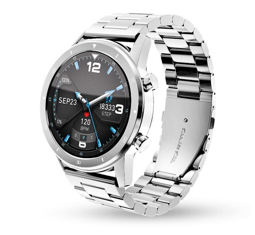 Chytré hodinky Chytré hodinky Aligator Watch PRO, stříbrná +3 řemínky v balení