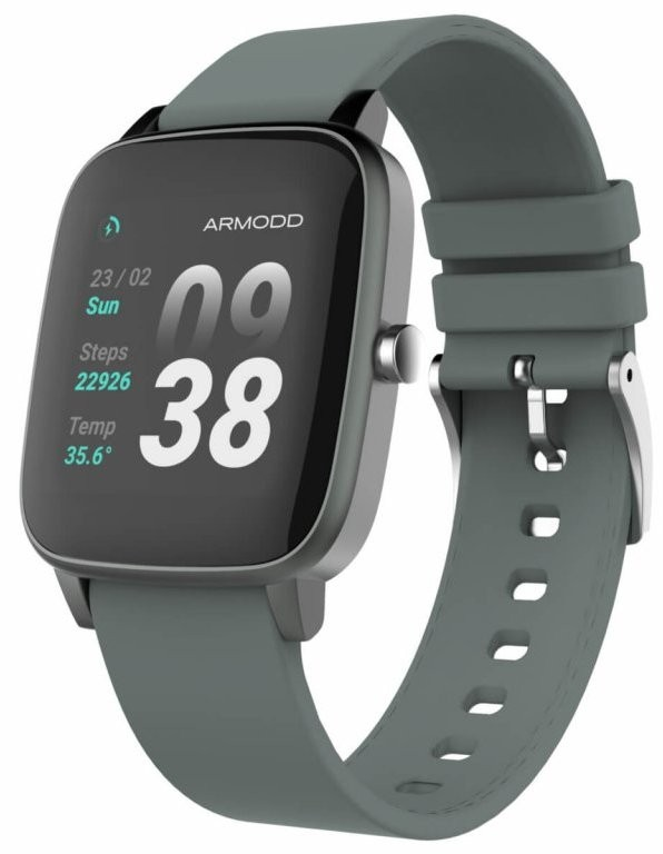Chytré hodinky Chytré hodinky Armodd Slowatch, šedá