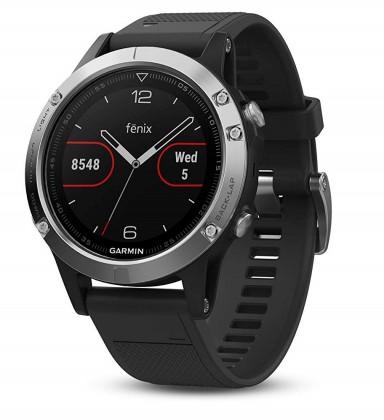 Chytré hodinky Chytré hodinky Garmin Fenix 5 Optic Silver, černá