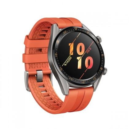 Chytré hodinky Chytré hodinky Huawei Watch GT Active, oranžová