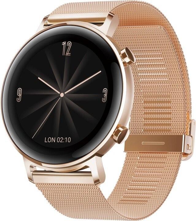 Chytré hodinky Chytré hodinky Huawei Watch GT2 42mm, zlatá