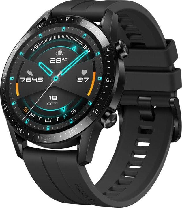 Chytré hodinky Chytré hodinky Huawei Watch GT2, černá