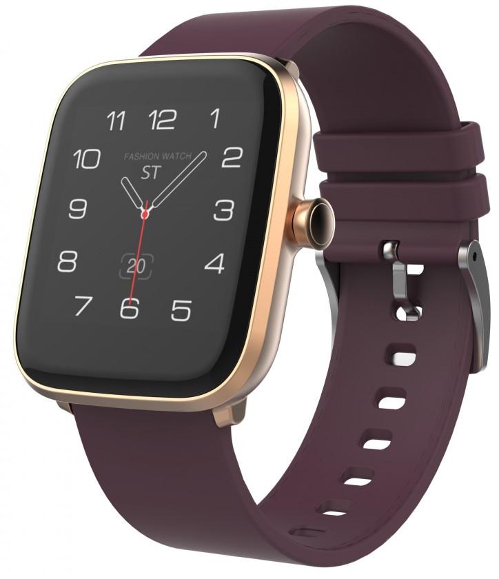 Chytré hodinky Chytré hodinky iGET Fit F20, zlatá