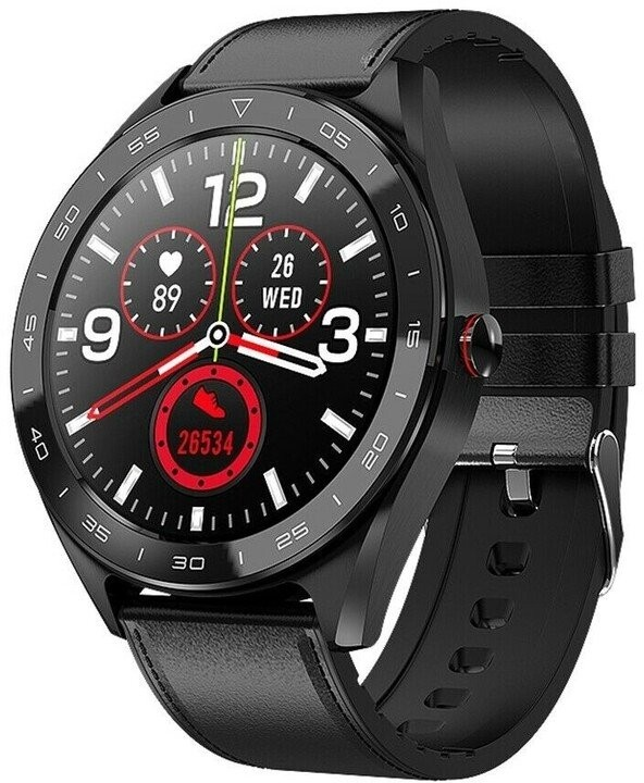 Chytré hodinky Chytré hodinky Immax Own Face, černá