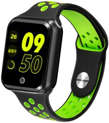 Chytré hodinky Chytré hodinky Immax SW10, černá/zelená
