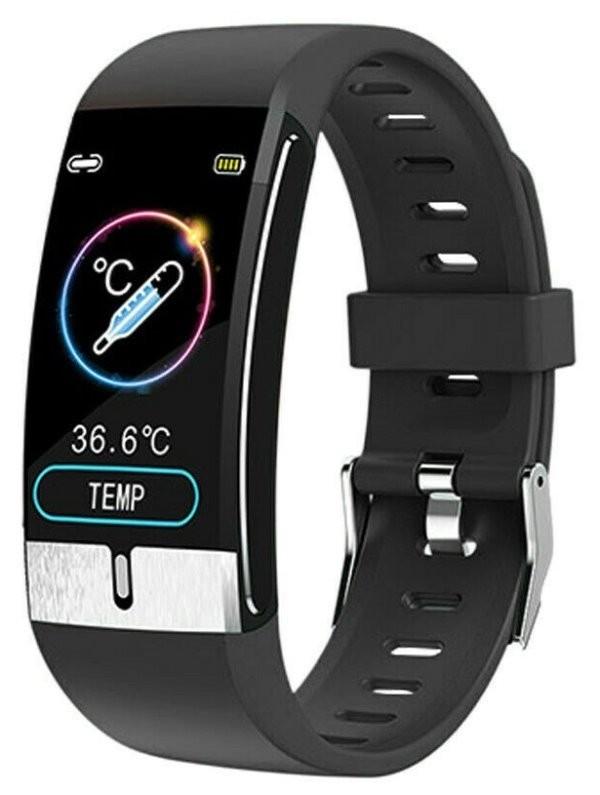 Chytré hodinky Chytré hodinky Immax Temp Fit, s měřením teploty, černá