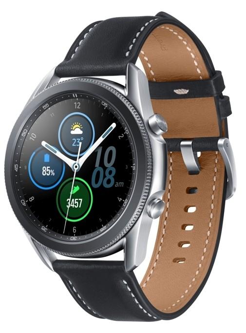 Chytré hodinky Chytré hodinky Samsung Galaxy Watch 3, 45mm, stříbrná